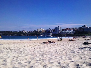 Der Strand von Bondi Beach