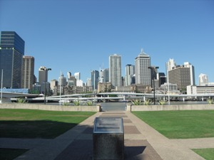 Von Sydney nach Cairns: Skyline von Brisbane