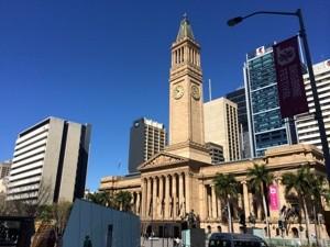 Das Rathaus von Brisbane