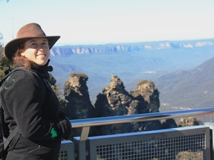 Die 'Three Sisters' in den Blue Mountains