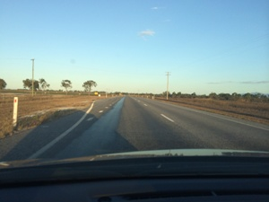 Queensland Highway No. 1: Bruce Highway in Australien