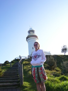 Der Leuchtturm von Byron Bay - von Sydney nach Brisbane