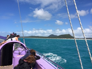 Highlight in Australien: Segeltörn in den Whitsundays