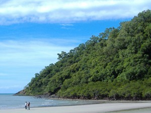 Strand Cape Tribulation Australien Reisen Kinder