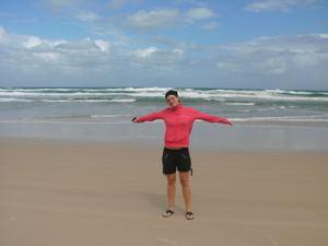 Der Strand von Coffs Harbour - von Sydney nach Brisbane