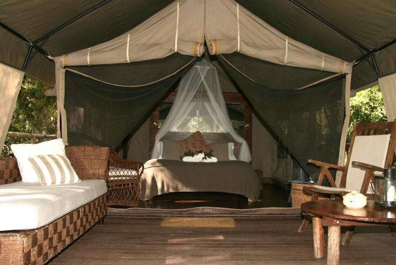 Deluxe -Safari- Zelt in Jervis Bay