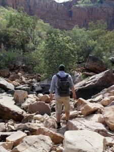 Wanderung duch die El Questro Schlucht