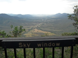 Ausblick Eungella Nationalpark Australien Rundreise