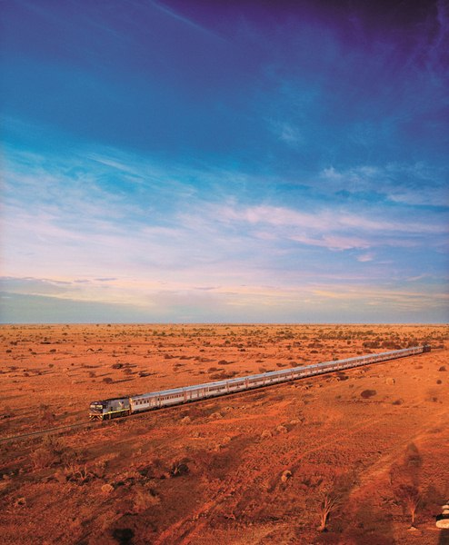 Great Southern Rail Indian Pacific train journey