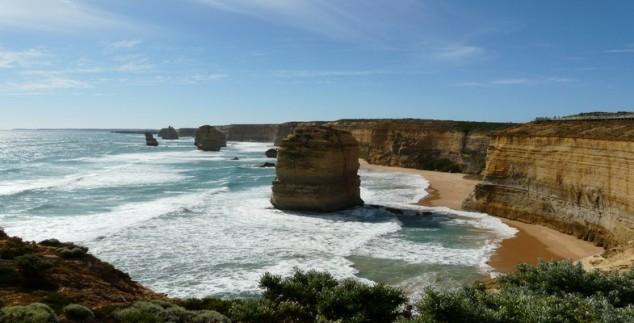 Great Ocean Road an der Ostküste