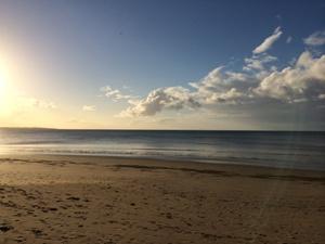 Der Strand von Hervey Bay
