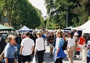 Kleiner Markt in Hobart