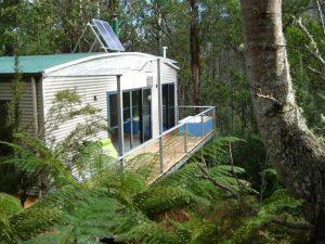 Lodge im Regenwald auf Ihrer Tasmanien Reise
