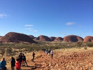 Australien Rundreise Ayers Rock Olgas Wanderung
