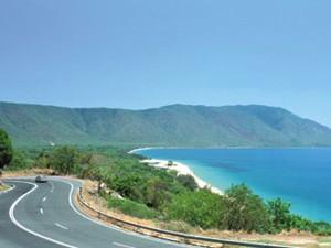 Autostrecke zwischen Palm Cove und Cairns