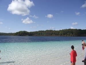 Der Lake McKenzie auf Fraser Island
