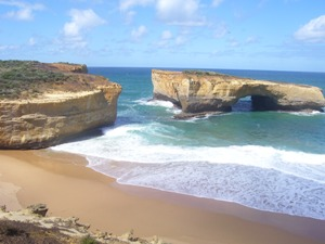 London Bridge an Great Ocean Road im Süden Australiens