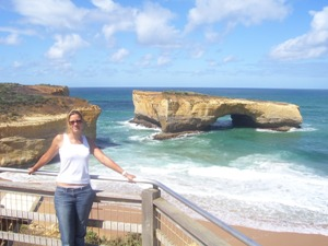 London Bridge an der Great Ocean Road Australien Süden Rundreise