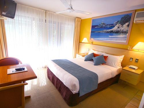 Hotelzimmer in Byron Bay Australien
