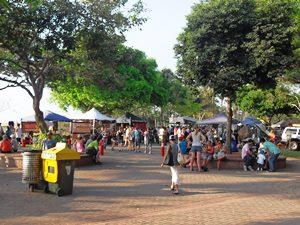 Bunter Markt in Australien