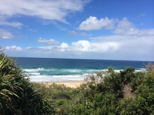 Strandblick in Noosa bei Australien Rundreise