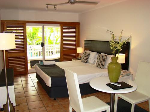Australien Rundreise Hotelzimmer Palm Cove