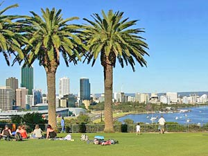 Westküste Australien Kings Park auf Perth