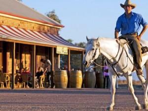 Ein Pub im Outback
