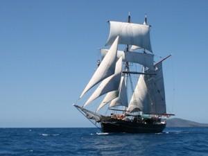 Segelschiff Whitsundays Australien Rundreise