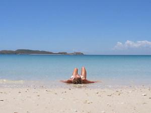 Weisser Strand in Westaustralien