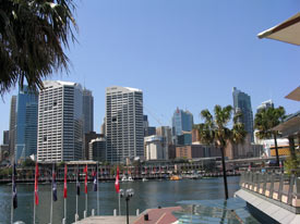 Darlingharbour in Sydney