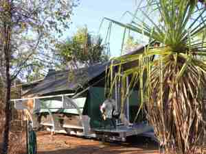 Unterkunft im Kakadu Nationalpark