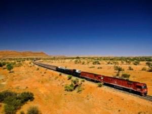 Mit dem Zug durchs Outback