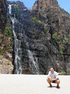 Twin Falls in den Nationalparks Australiens
