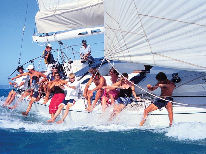 Australien Ostküste Gruppenreise Bootstour Whitsunday