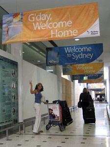 3 Wochen Australien Reise Sydney Flughafen