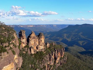 Three Sisters der Blue Mountains - ein Highlight Australiens