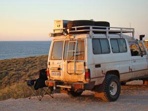 Stop auf der Fahrt zum Cape Range