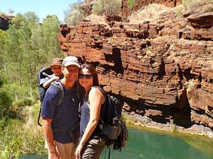 Wandern Karijini Nationalpark Westküste Australien