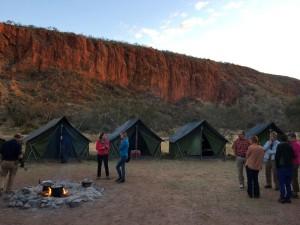 Australien mit Kindern - Wildnis bei Glen Helen