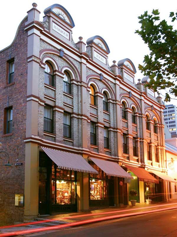 Aussenansicht des Special Stay Hotels in Sydney