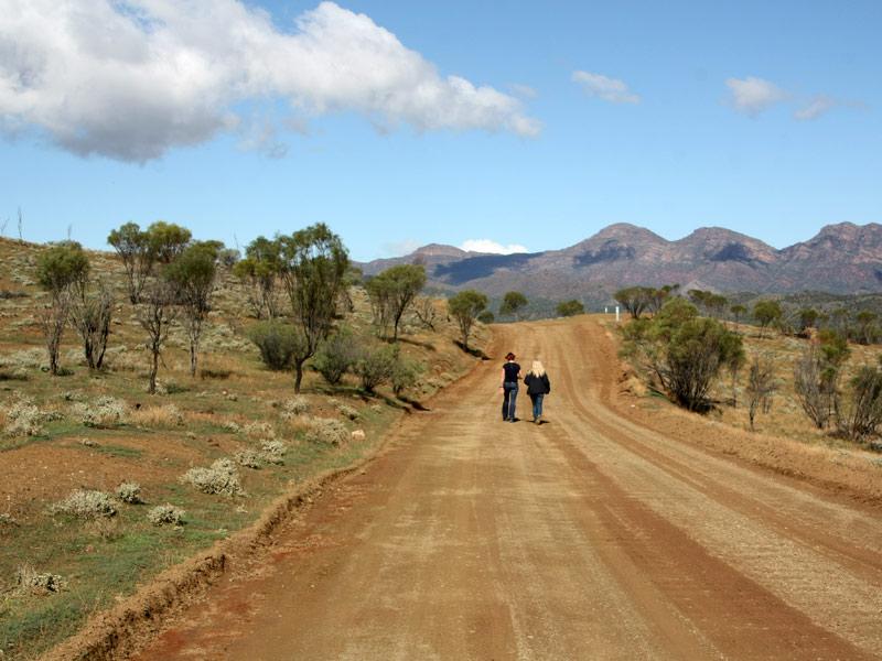 Flinders Ranges Wanderung