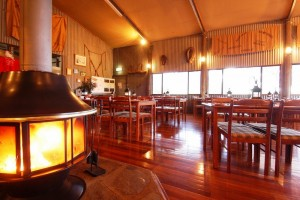 Restaurant in der Station der Flinders Ranges