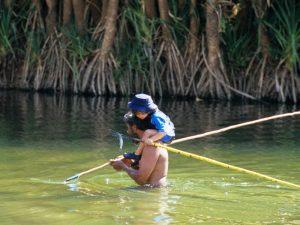 speer-fishing