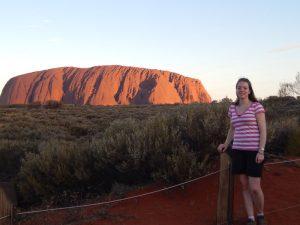 ayers-rock-ausblick - Rundreise Australien Neuseeland