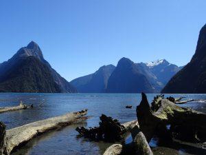 milford-sound-berge - Rundreise Australien Neuseeland