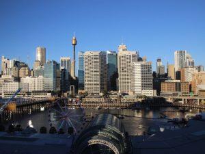 Blick auf Darling Harbour