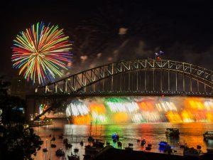 Silvester Feuerwerk in Sydney