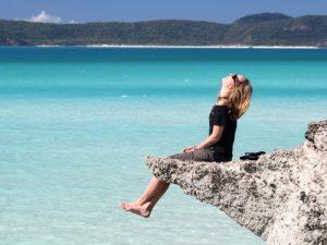 Entspannung am Strand-Australien Ostküste