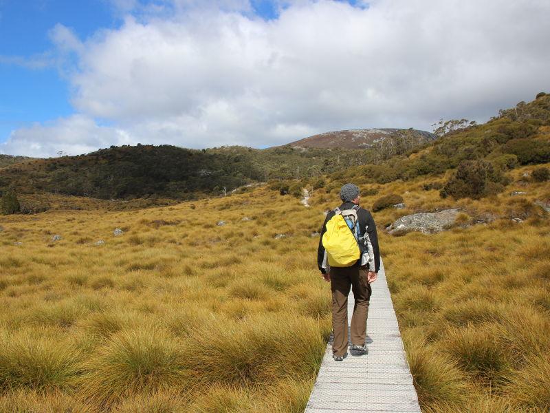 Tasmanien Reise Australien Bergsteigen Wandern